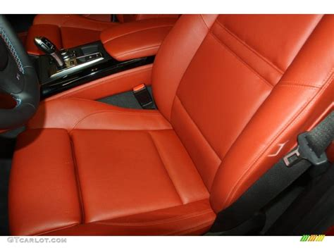 Bmw Sakhir Orange Interior by Sakhir Orange Merino Leather Interior 2011 Bmw X6 M M