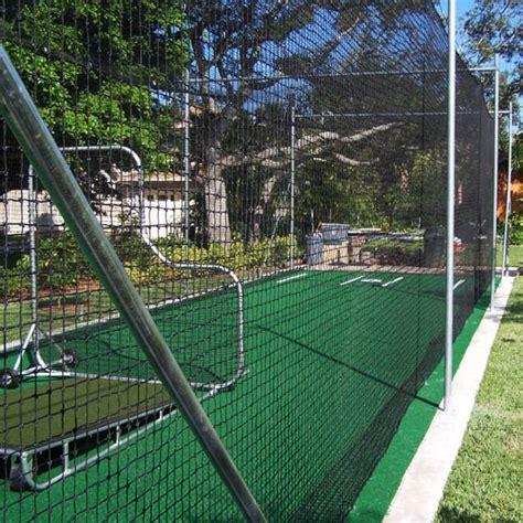 outdoor nylon batting cage burbank sport nets