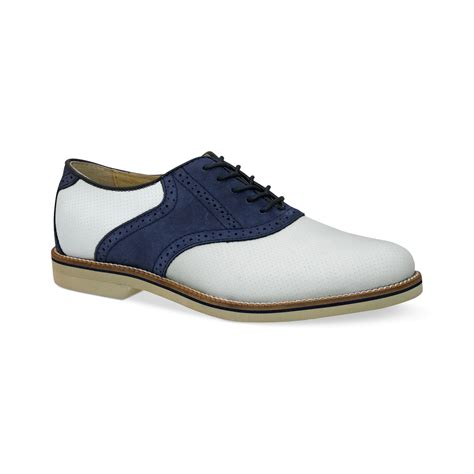 burlington shoes for lyst g h bass co bass burlington plain toe saddle