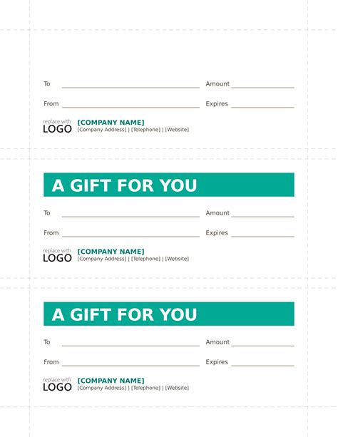 Gift Certificate Letter Template certificates free business letter templates and