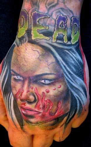 tattoo zombie hand tattoo andy zombie hand tattoo
