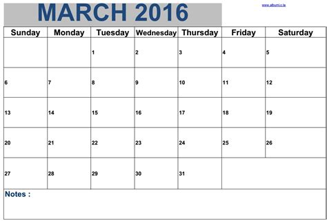 printable daily calendar march 2016 march 2016 new blank calendars for print 2016 blank