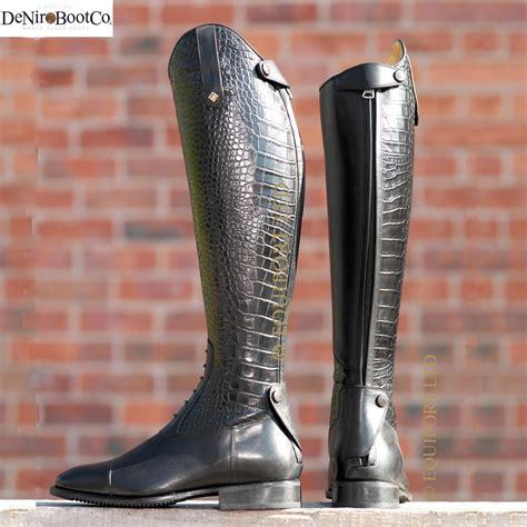 deniro boots equestrian boots from deniro boot company fashionista