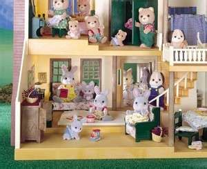 calico critters deluxe village house calico critters deluxe village house 3 stories 9 rooms staircase its on popscreen