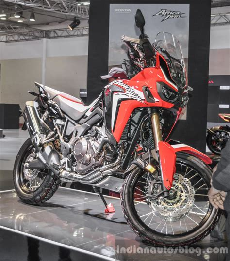 Ktm At Auto Expo 2016 by Honda Crf1000l Africa Semi Fairing At Auto Expo 2016