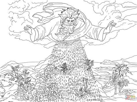 biblische figuren zum ausmalen ausmalbild der dritte sch 246 pfungstag ausmalbilder