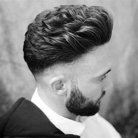 Curly Hairstyles Thick Hair Fade Haircut Skin Fade Haircut For 75 Sharp Masculine Styles