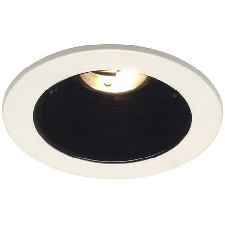 elite 4 low voltage recessed lighting juno 4 quot low voltage black alzak recessed light trim