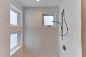 Walk In Shower Baths shower plaster in bathroom
