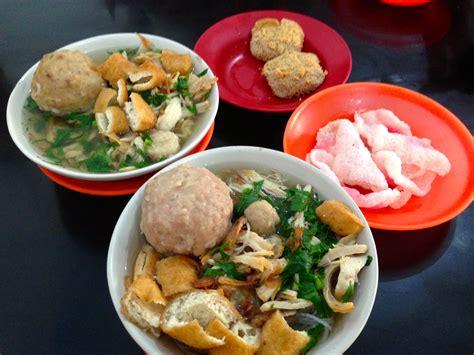 Bakso Komplit Mie Bihun Kwetiau bakso ayam cianjur medan surga kuliner