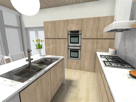 Stove In Kitchen Island by 7 Kitchen Layout Ideas That Work Roomsketcher Blog