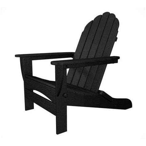 Essence Es 7030 Black mission chair in black bird eye polywood 174 chairs patio