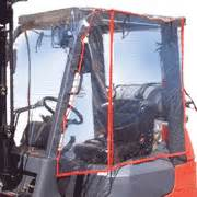Forklift Cover by Forklift Safety Products Atrium Forklift Enclosure Covers