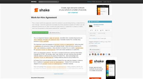 sle work for hire agreement template work made for hire agreement template 28 images usa