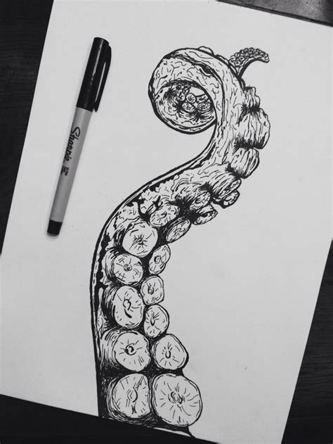 great doodle ideas draw drawing great ideas octopus painter pencil