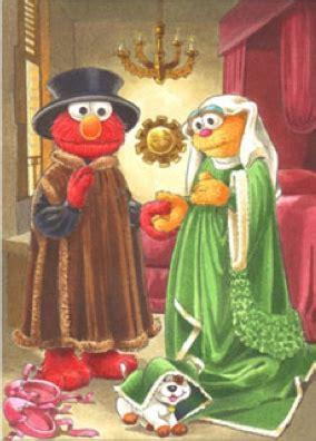 Arnolfini marriage theme in emma