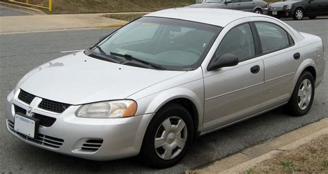 electric and cars manual 2004 dodge stratus spare parts dodge stratus wikipedia