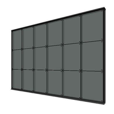 cortina vidrio muro cortina vidrio abotonado