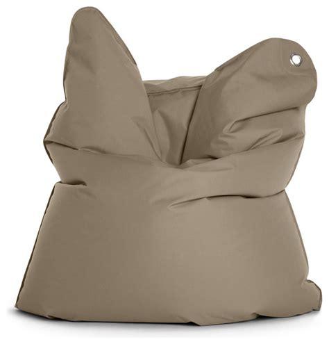 Modern Bean Bag Chair Outdoor Bull Sitzsack Braungrau Sitting Bull Modern