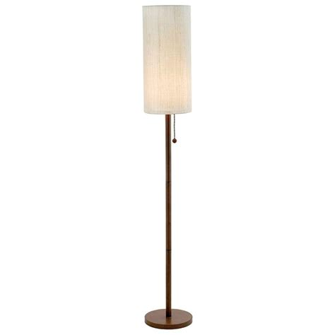 Adesso Lighting Customer Service - adesso htons 65 in walnut floor l 3338 15 the