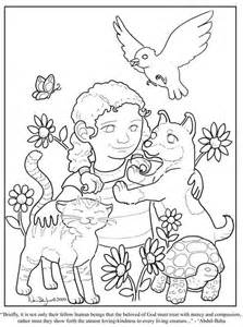 kindness coloring pages showing kindness to others coloring page coloring pages