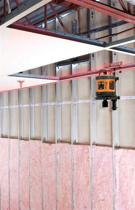 Laser Level For Drop Ceiling by Johnson Level And Tool 40 6515 Self Leveling Rotary Laser
