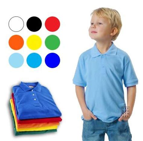 Kaos Anak Shirt Kid The Kid jual basic kid s polo shirt kaos polos berkerah anak 0 5