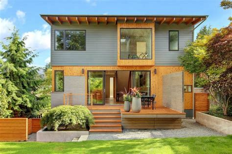 exterior remodel by plum projects seattle wa home