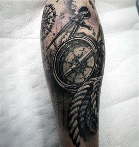 family themed tattoo 40 nautical sleeve tattoos for men seafaring ink deisgn