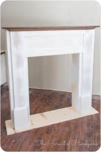 pdf plans building a faux fireplace mantel diy