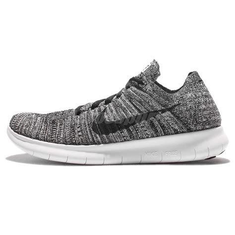 Nike Free Rn Flyknit Oreo wmns nike free rn flyknit run oreo black white running shoes 831070 100 ebay
