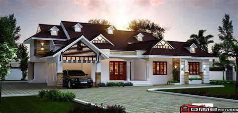 Single Story House Plan single storey house design home pictures