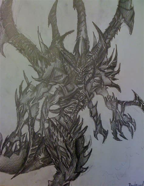 Diablo 3 Sketches by Diablo 3 Prime Evil Finished By Silferath On Deviantart