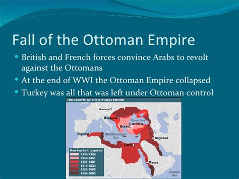 ottoman empire collapsed middle east nationalism
