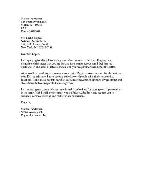 Cover Letter Format For by Cover Letter Format Word Best Template Collection