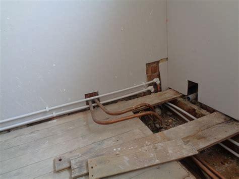 water under bathroom floor bathroom water pipe hidden below floor level earlsdon