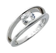 my rings on modern engagement rings
