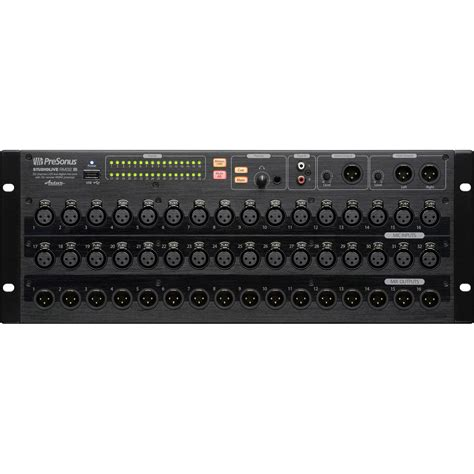 Rack Mounted Mixer by Presonus Rm32ai Rack Mount Software Controlled Digital