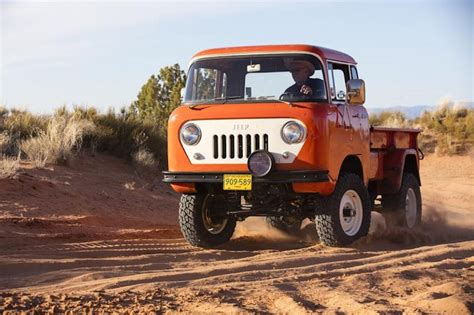jeep fc jeep rolls retro at moab with the jeep fc 150 heritage vehicle