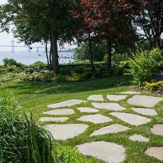 Rustic flagstone patios and walkways