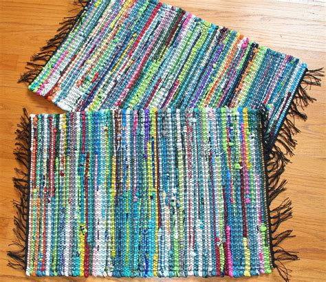 How To Make A Plastic Bag Rug by Homesteadweaver Looms With A View January 2011