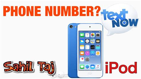 Ipod Phone Number Lookup How To Get A Phone Number On A Ipod Touch