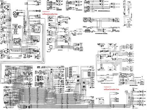 corvette ac wiring diagram wiring forums