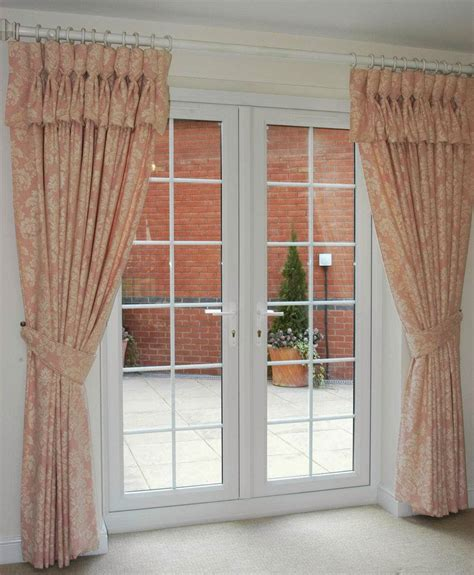 kitchen patio door curtains window treatments for french doors home design ideas and