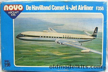novo 1/96 de havilland comet 4 jet airliner boac (frog