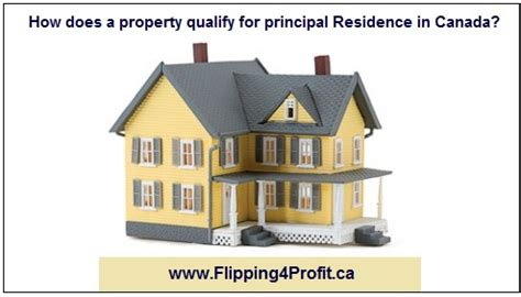 Residence Phone Number Lookup How Does A Property Qualify For Principal Residence In Canada Flipping4profit Ca