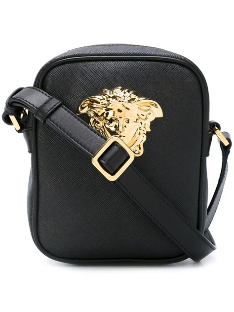 Versace Pocket Shoulder Bag by Versace Small Palazzo Medusa Shoulder Bag