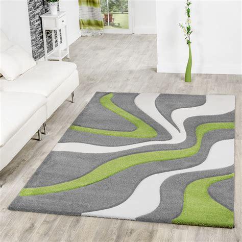 moderne teppiche teppich grau gr 252 n wei 223 wohnzimmer teppiche modern mit