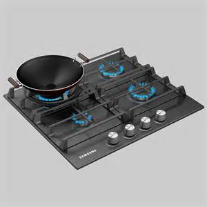Samsung Cooktop Gas 2015 samsung gas cooktop 3d model