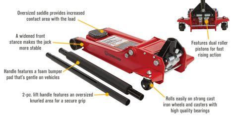 strongway   ton hydraulic quick lift  profile